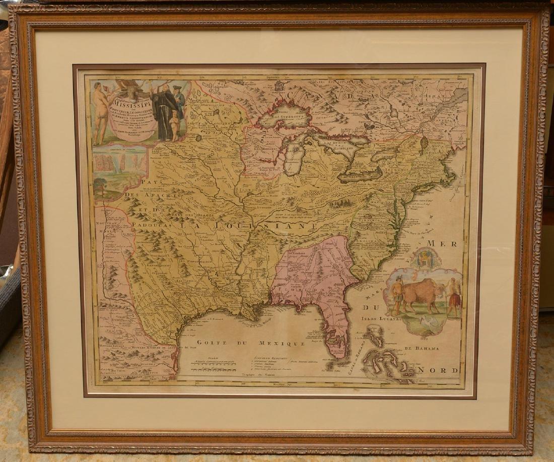 MAPS: Homann 1720 Regionis Mississipi