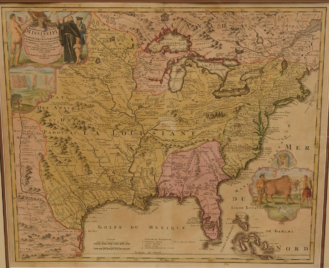MAPS: Homann 1720 Regionis Mississipi - 2