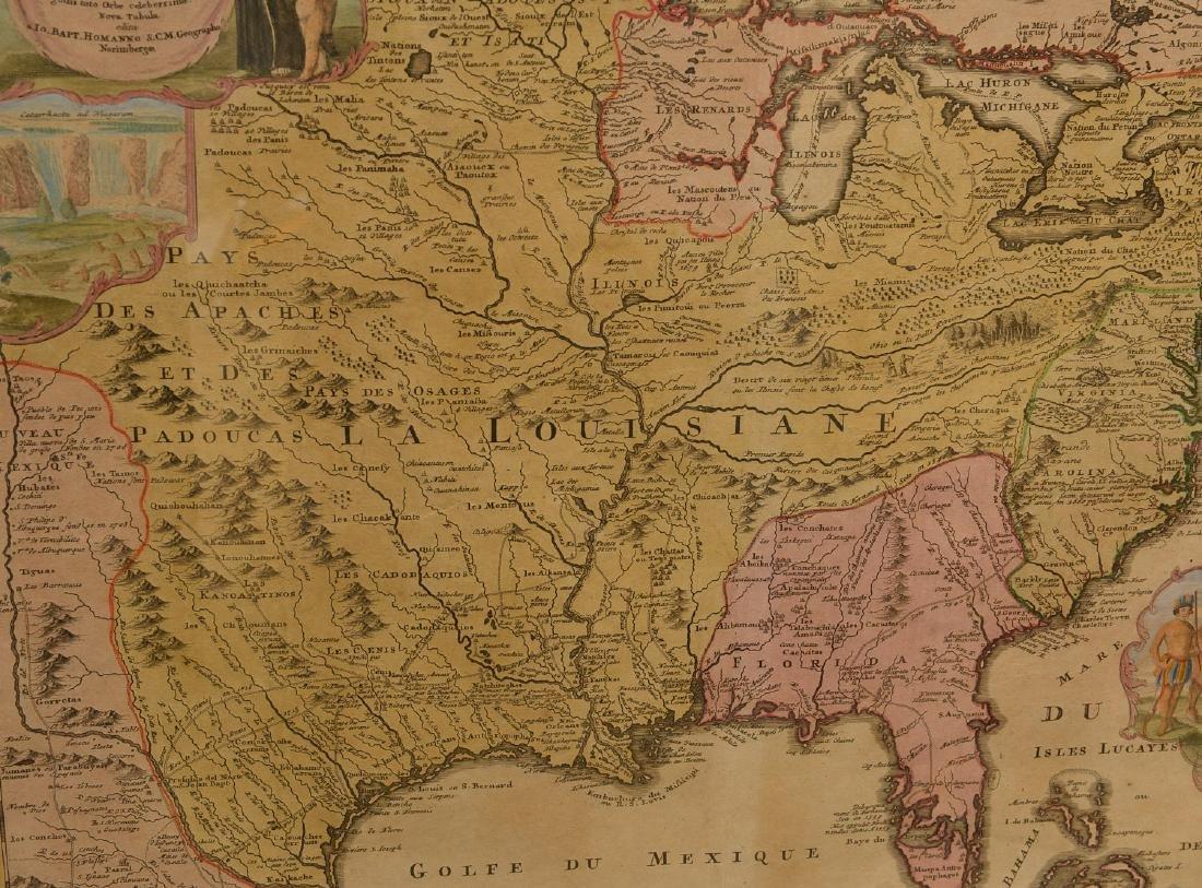 MAPS: Homann 1720 Regionis Mississipi - 5
