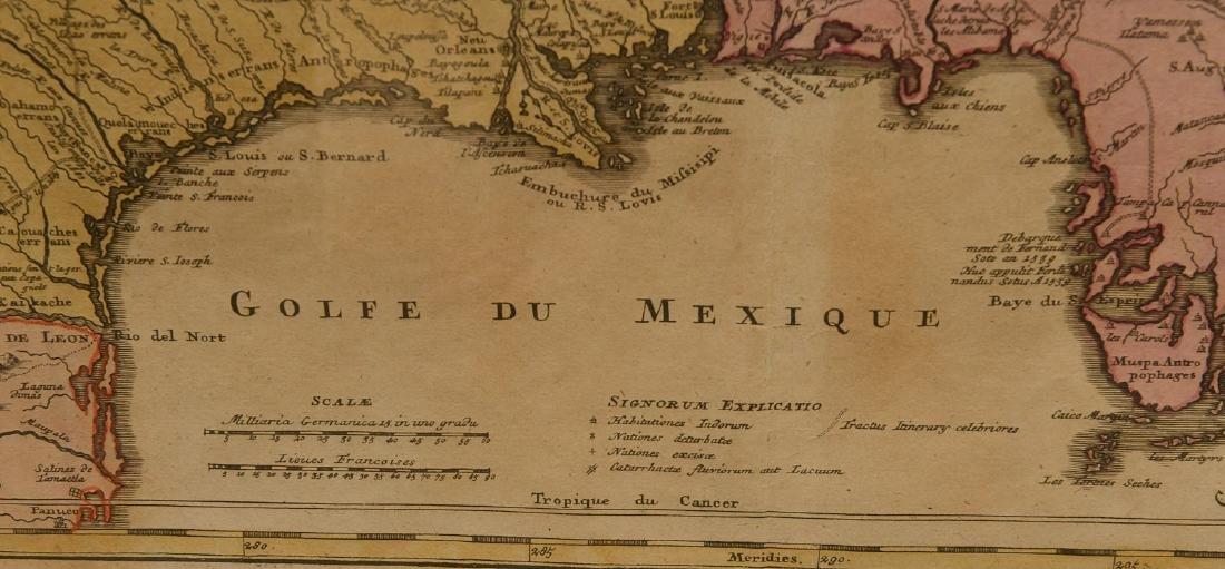 MAPS: Homann 1720 Regionis Mississipi - 7