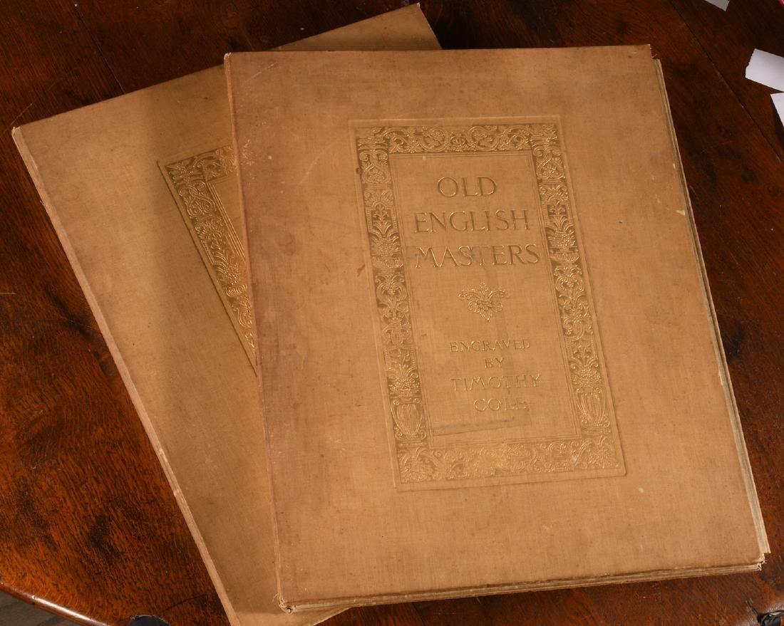 BOOKS: Cole 1902 Old English Masters Signed Ltd Ed