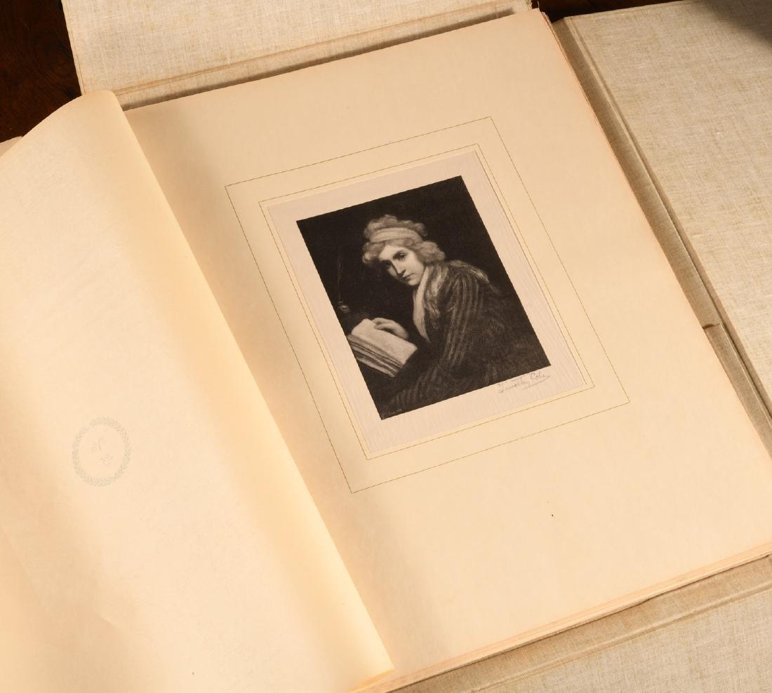 BOOKS: Cole 1902 Old English Masters Signed Ltd Ed - 8