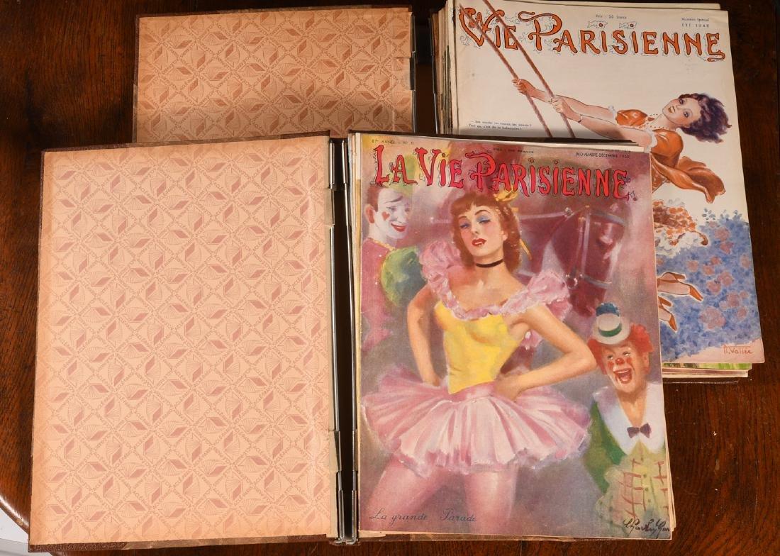 (18) Issues LA VIE PARISIENNE Magazine 1948-1951