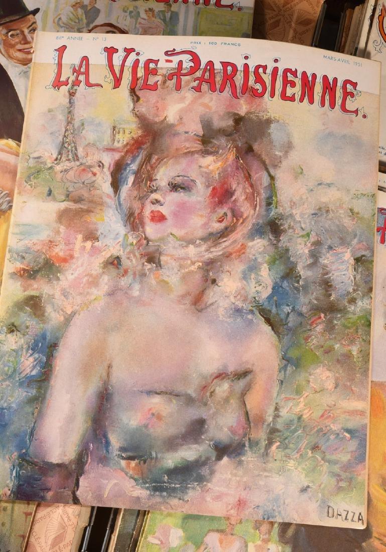 (18) Issues LA VIE PARISIENNE Magazine 1948-1951 - 2