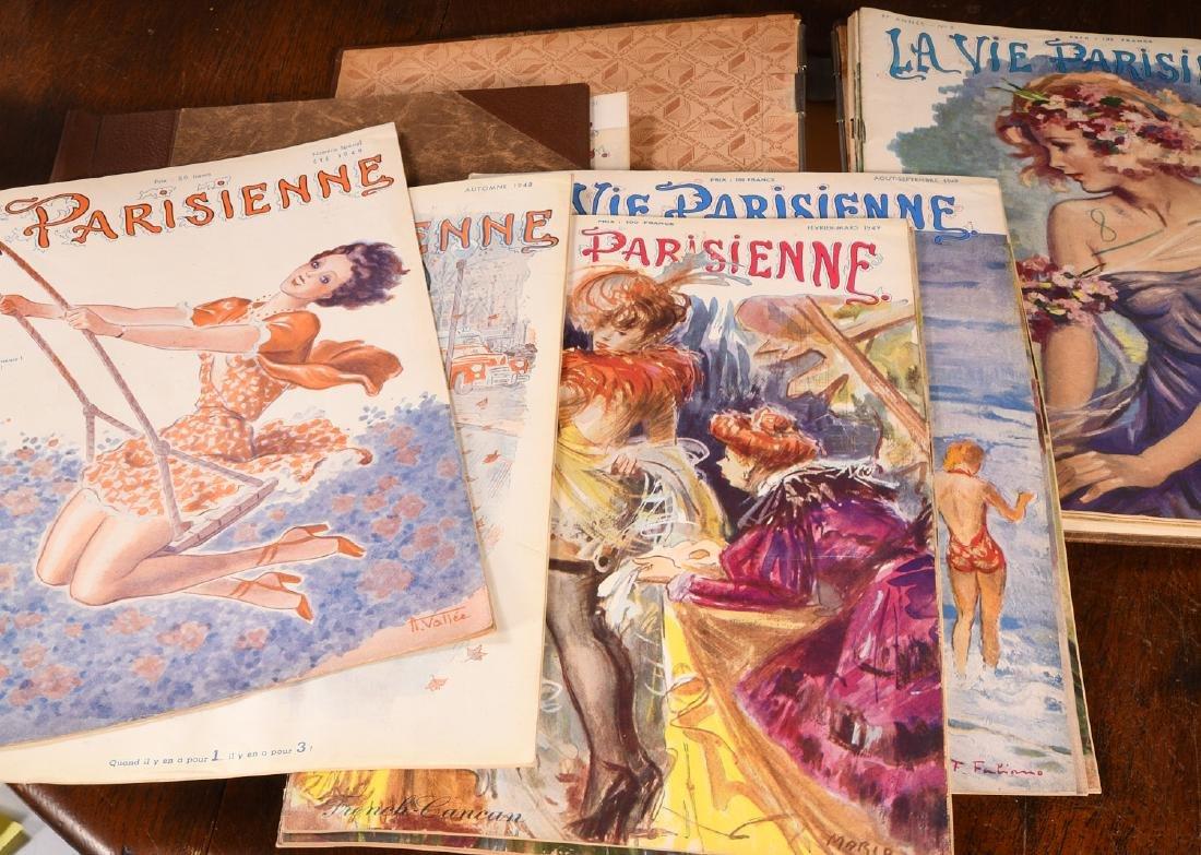 (18) Issues LA VIE PARISIENNE Magazine 1948-1951 - 4