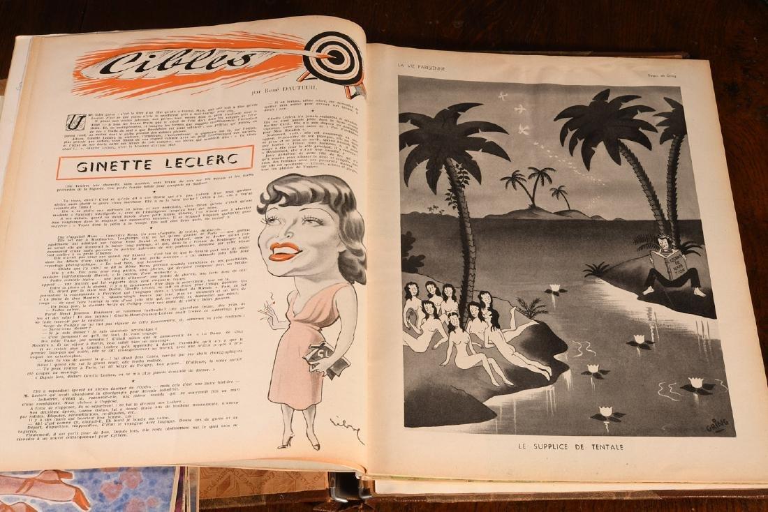 (18) Issues LA VIE PARISIENNE Magazine 1948-1951 - 6
