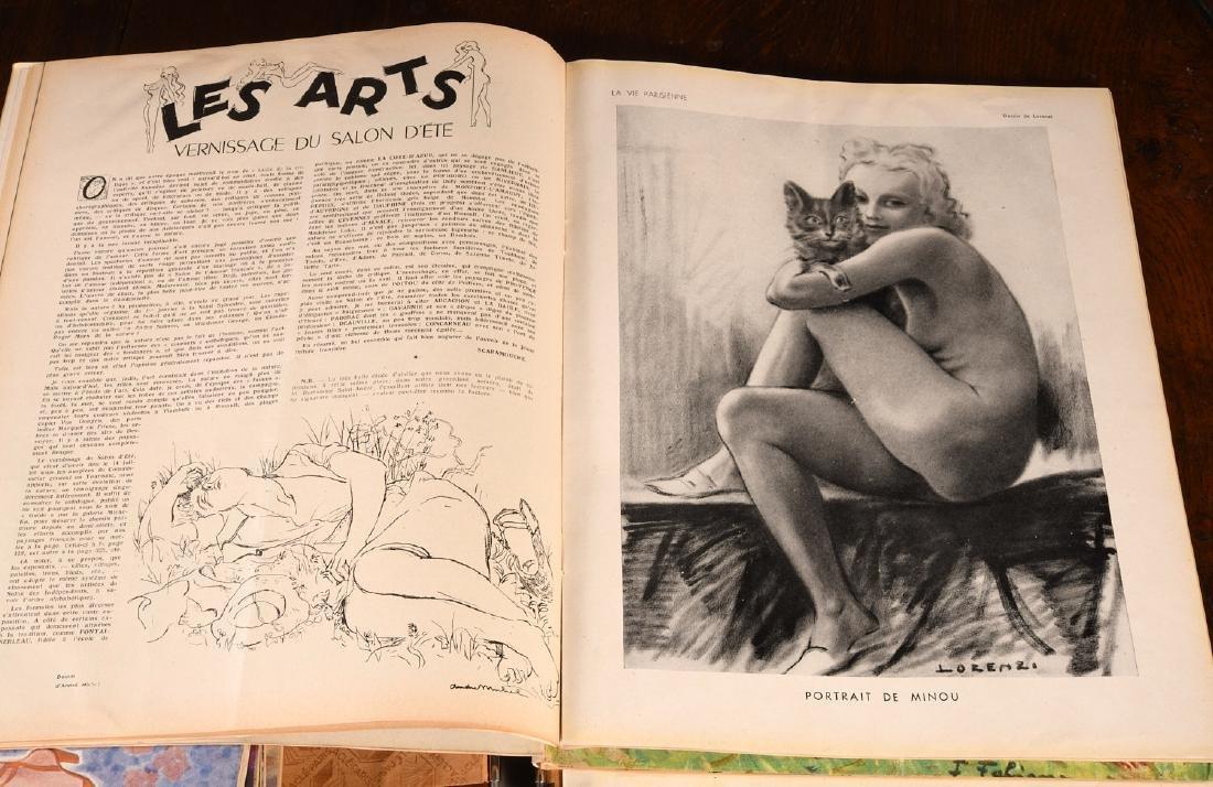 (18) Issues LA VIE PARISIENNE Magazine 1948-1951 - 7
