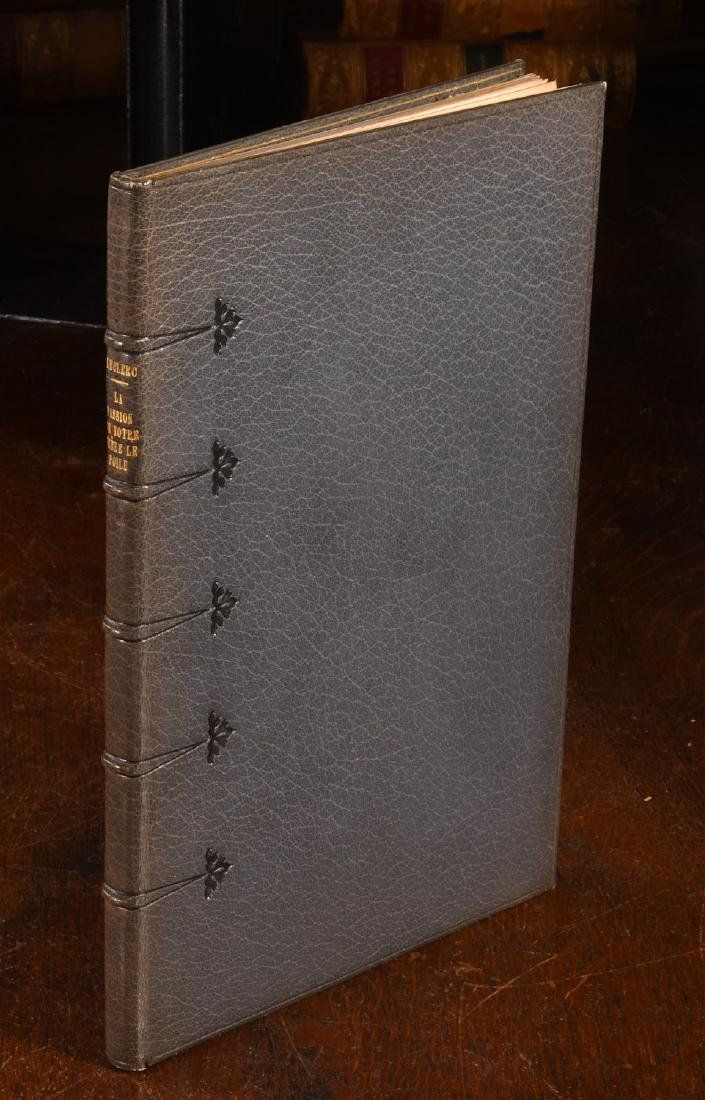 BOOKS: Leclerc 1918 Passion de Notre Frere Farroud