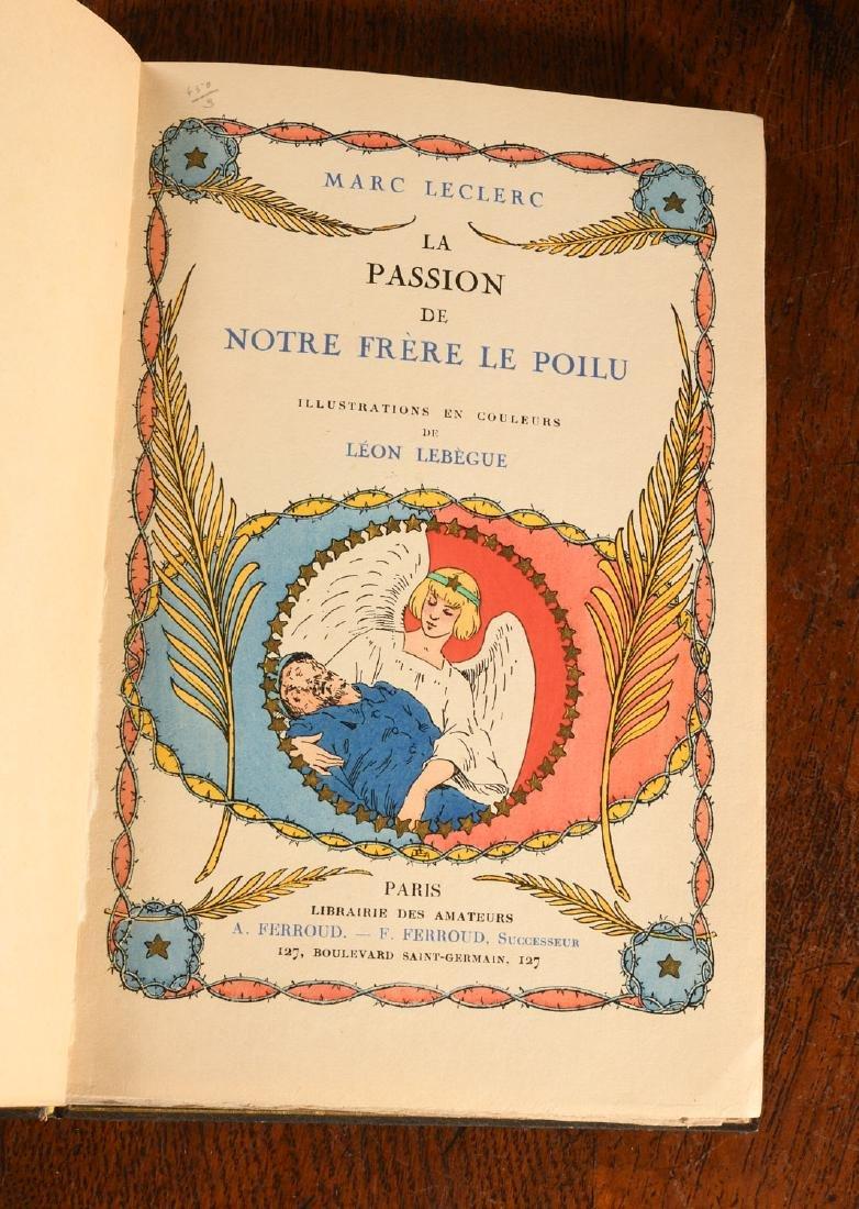BOOKS: Leclerc 1918 Passion de Notre Frere Farroud - 5
