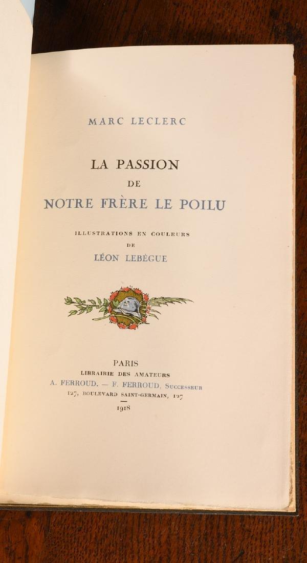 BOOKS: Leclerc 1918 Passion de Notre Frere Farroud - 7