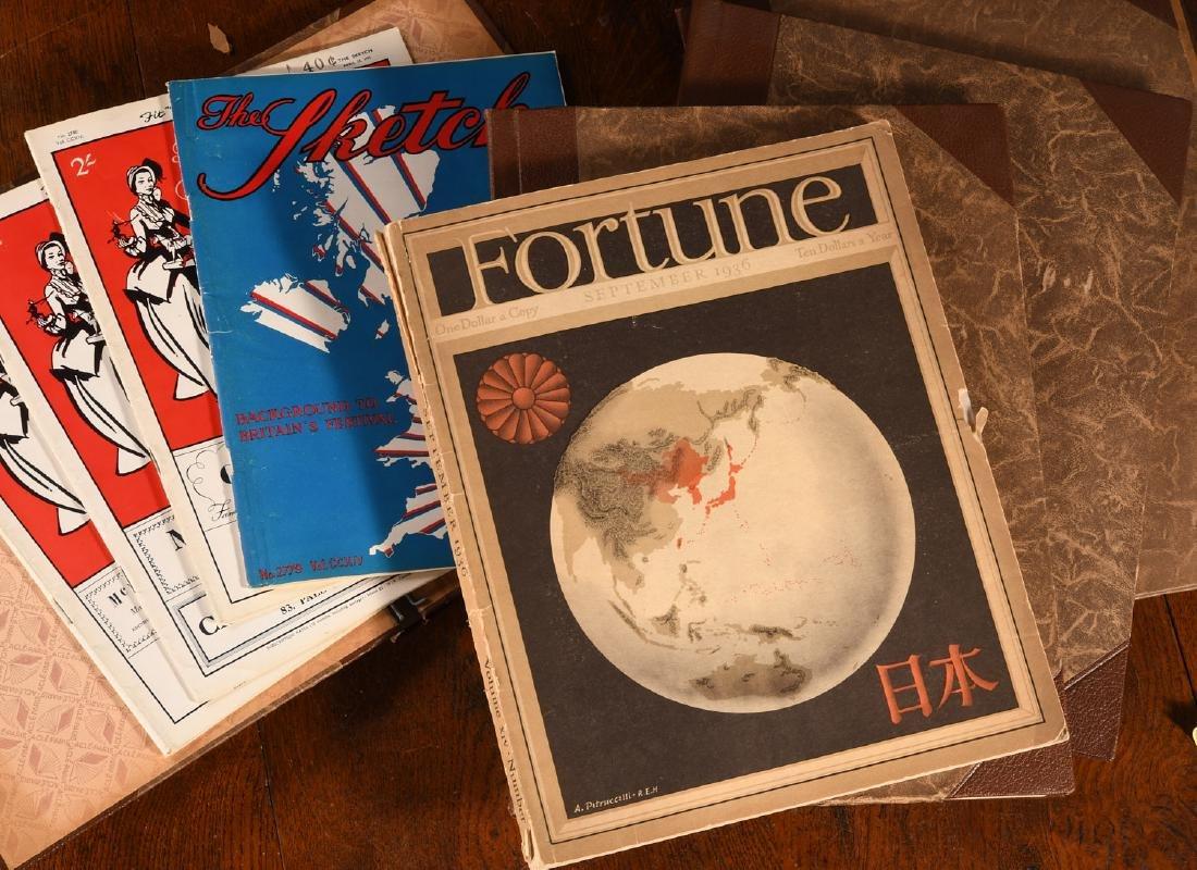 MAGAZINES (8) Vintage L'ILLUSTRATION, SKETCH Etc