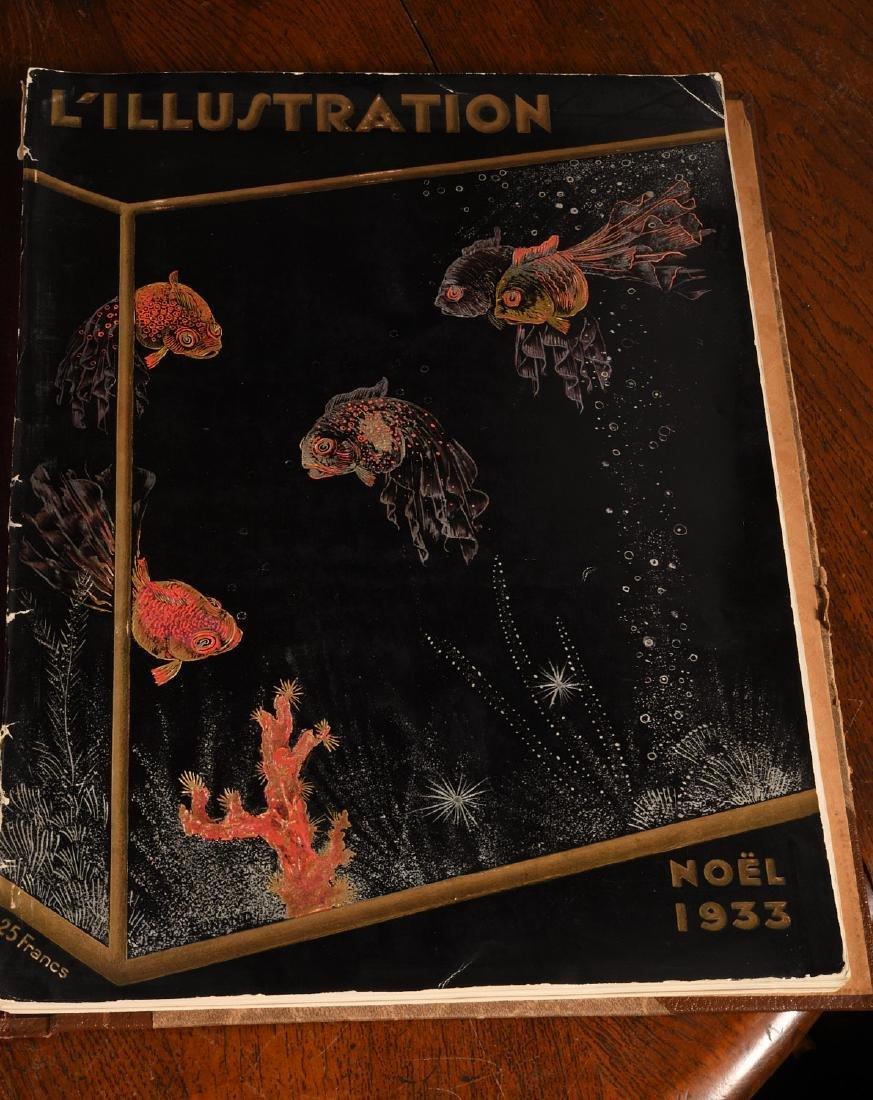 MAGAZINES (8) Vintage L'ILLUSTRATION, SKETCH Etc - 6