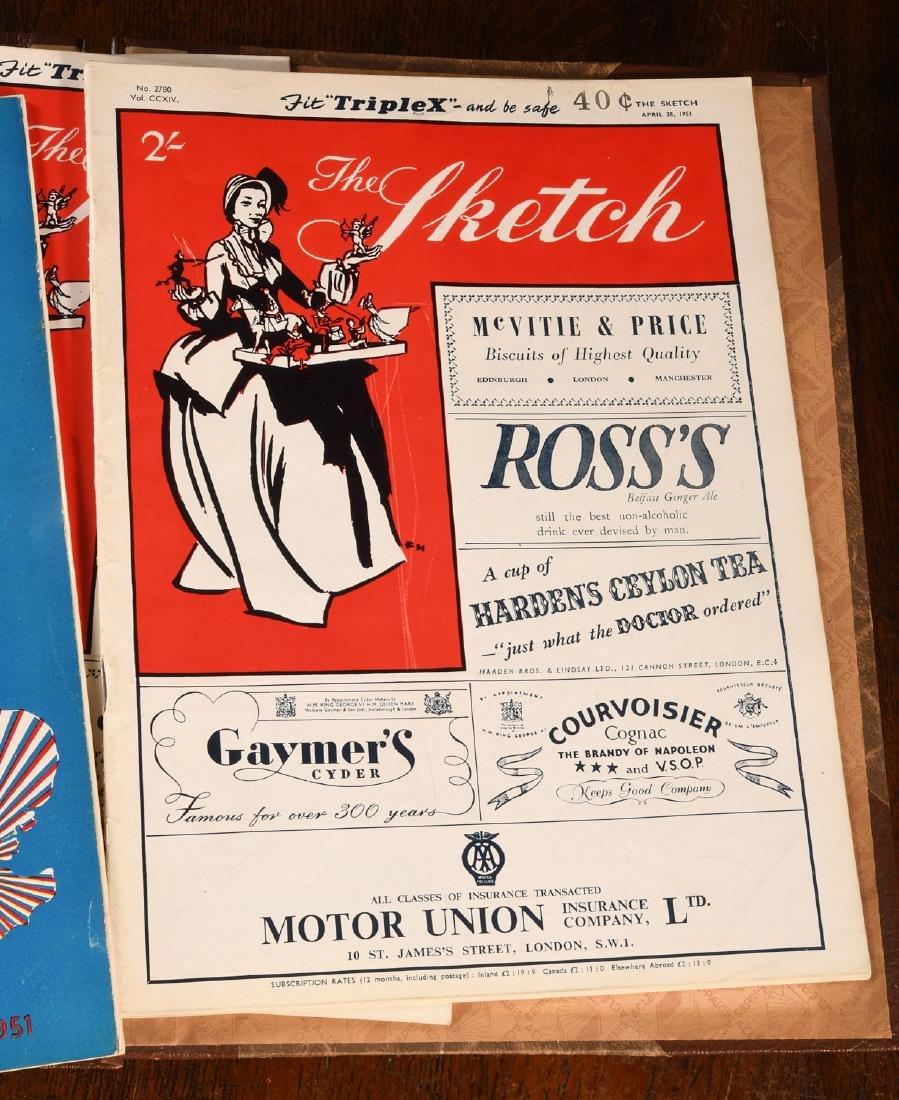 MAGAZINES (8) Vintage L'ILLUSTRATION, SKETCH Etc - 7