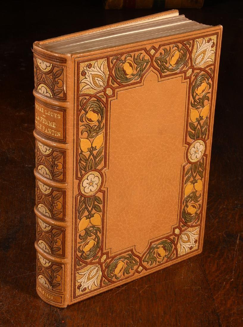 BOOK: 903 La Femme et Le Pantin Fine Binding