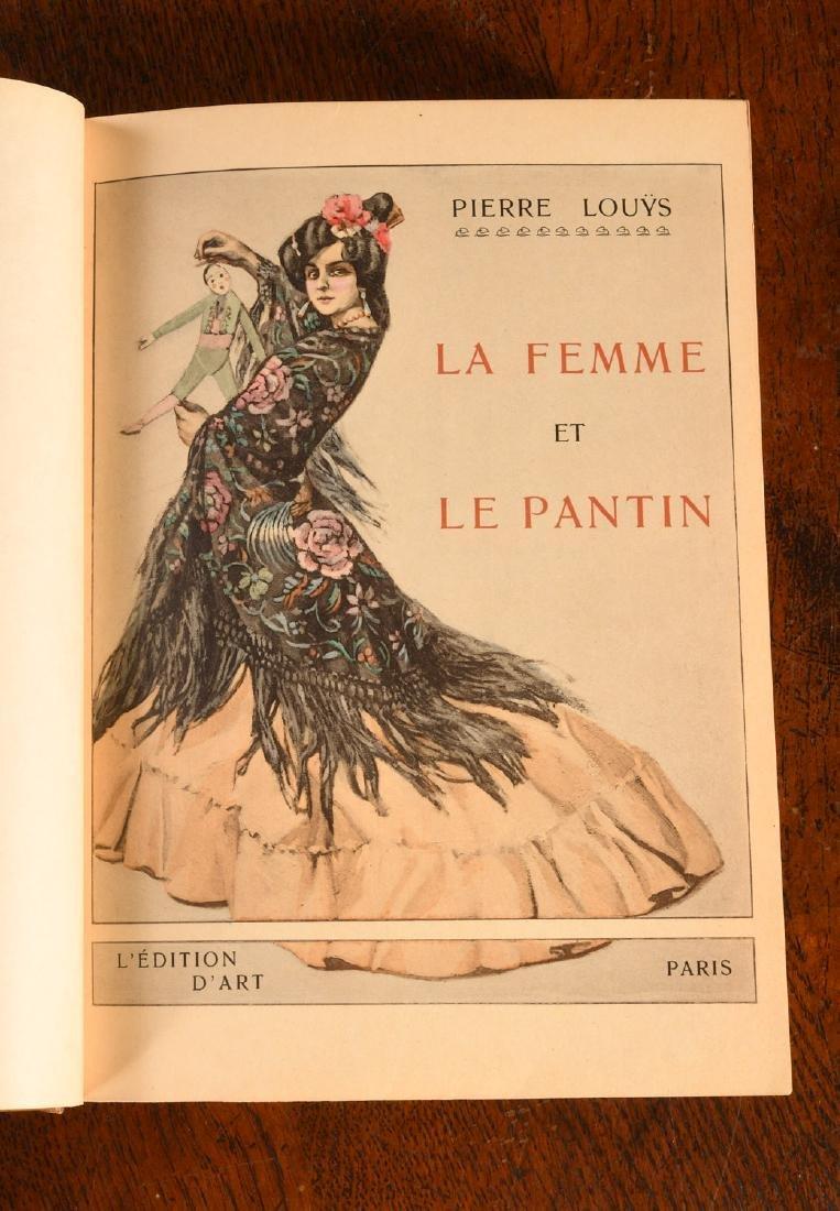BOOK: 903 La Femme et Le Pantin Fine Binding - 6