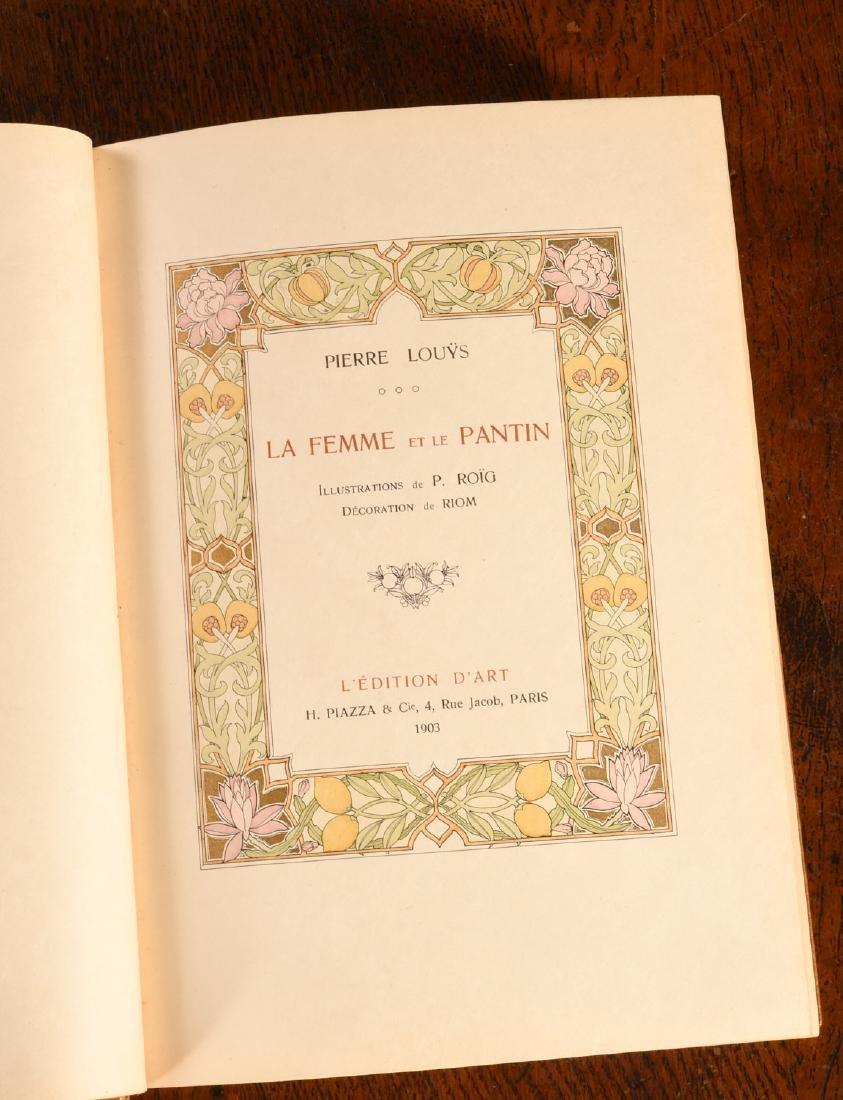 BOOK: 903 La Femme et Le Pantin Fine Binding - 7