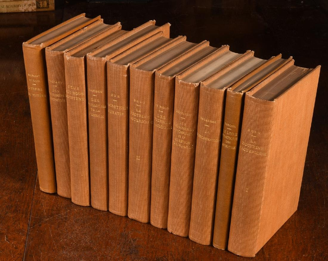 BOOKS: (11) Vols French Spiritualism 1905-1920