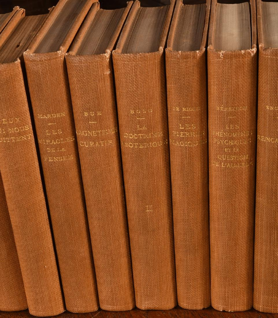 BOOKS: (11) Vols French Spiritualism 1905-1920 - 3