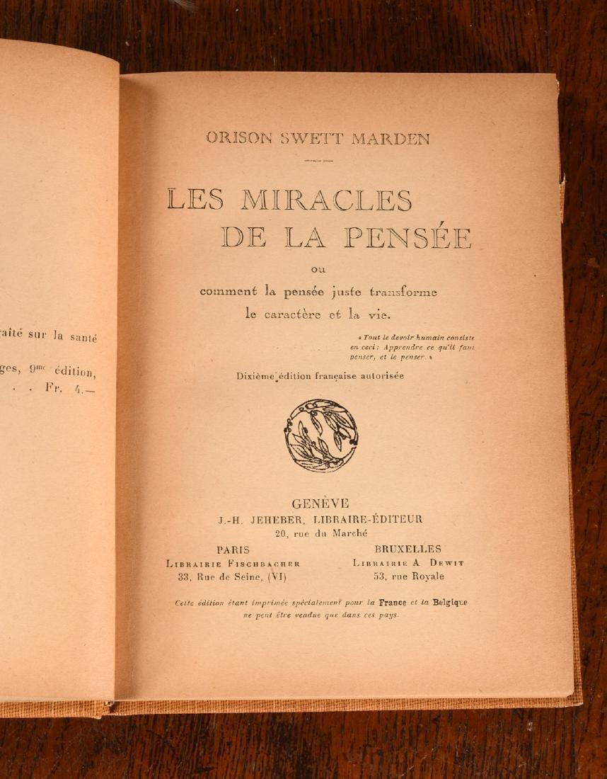 BOOKS: (11) Vols French Spiritualism 1905-1920 - 5