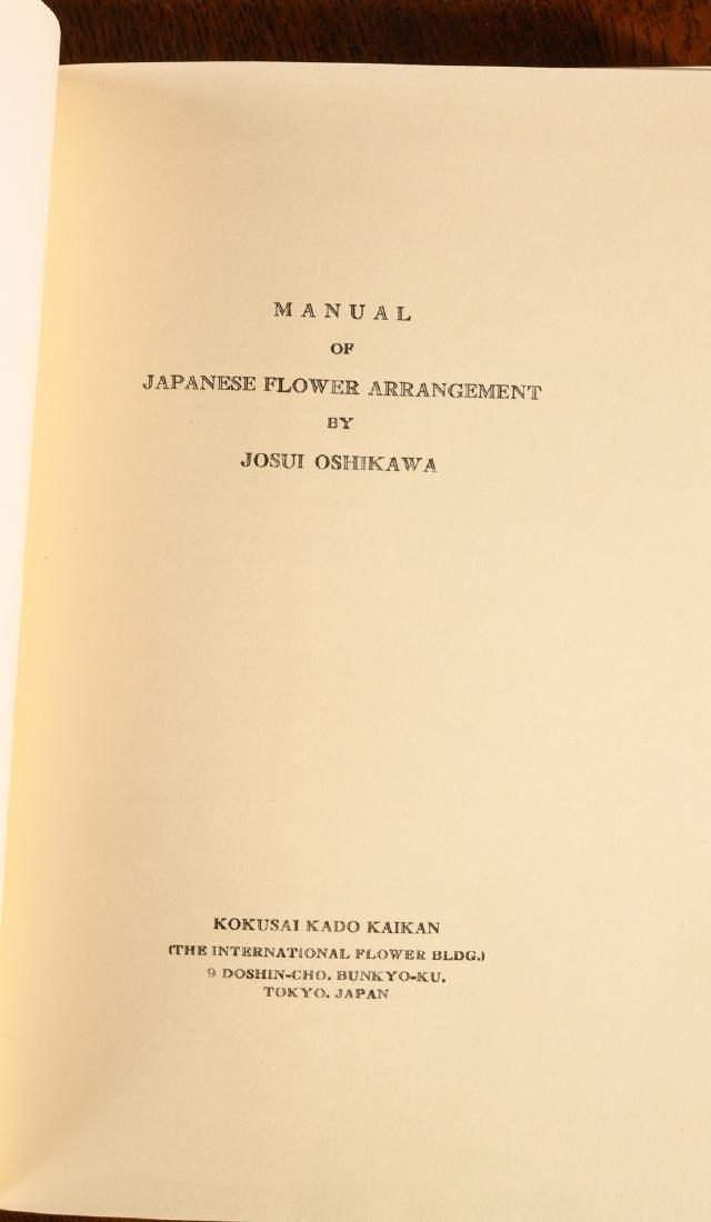 BOOKS: (4) Vols Japanese Flower Arrangement - 4