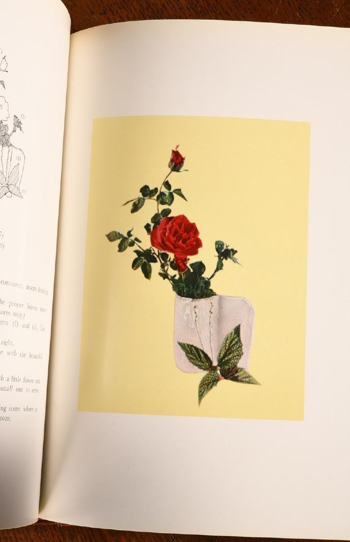 BOOKS: (4) Vols Japanese Flower Arrangement - 5