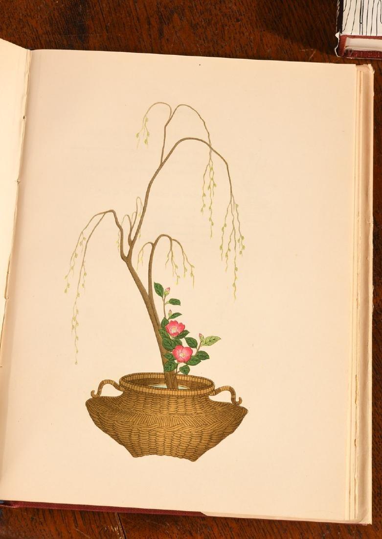 BOOKS: (4) Vols Japanese Flower Arrangement - 6
