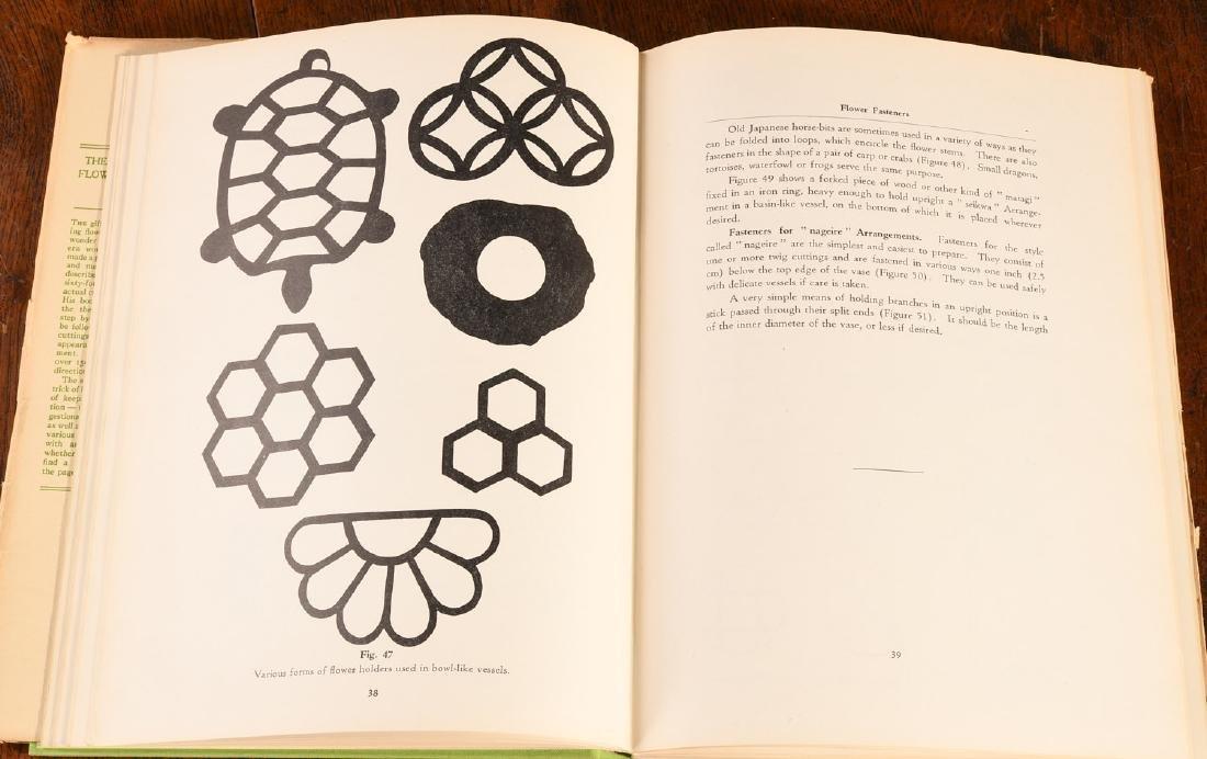 BOOKS: (4) Vols Japanese Flower Arrangement - 7