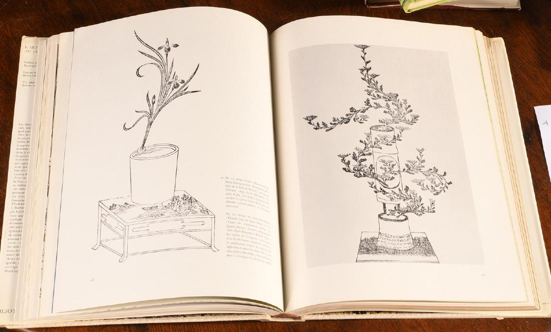 BOOKS: (4) Vols Japanese Flower Arrangement - 8