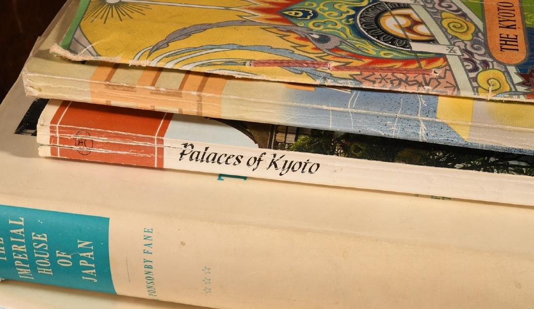 BOOKS: (9) Vols Kyoto, Japan 1930s-2000 - 3