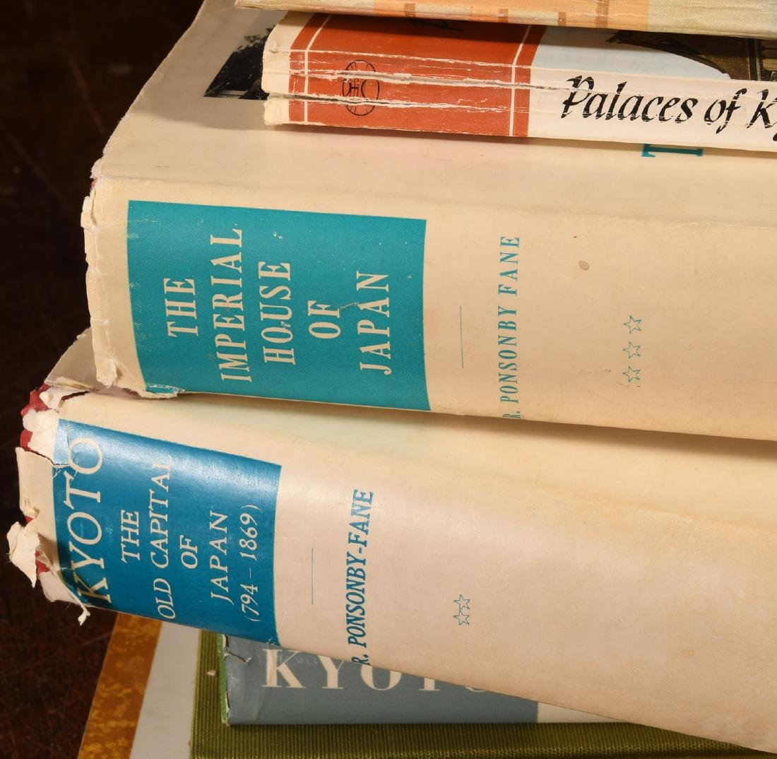 BOOKS: (9) Vols Kyoto, Japan 1930s-2000 - 4