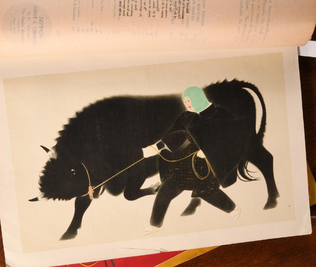 MAGAZINES: (3) Japanese Mainichi Nippon 1937-41 - 3
