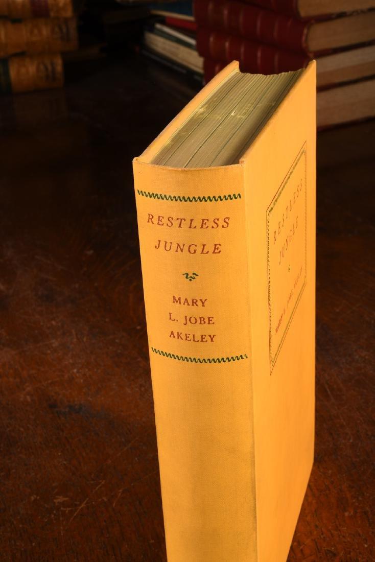 BOOKS: Akeley 1936 Restless Jungle SIGNED - 2