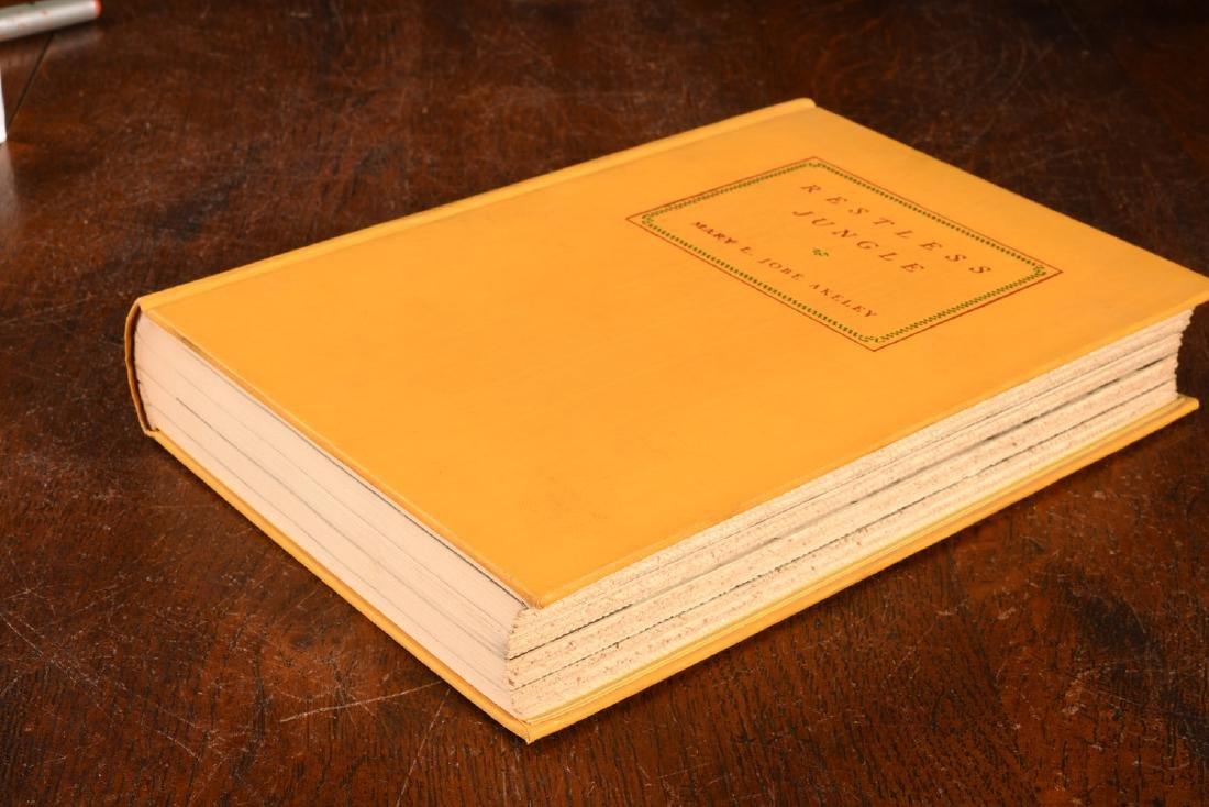 BOOKS: Akeley 1936 Restless Jungle SIGNED - 7