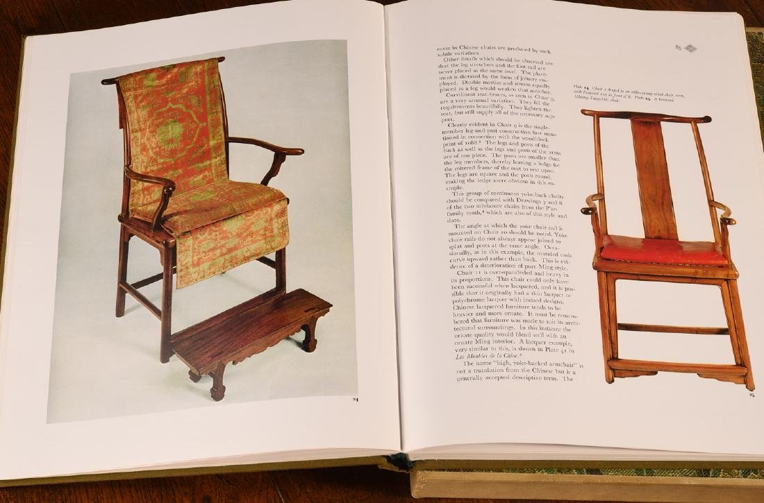 BOOKS: Ellsworth 1971 Ming Chinese Furniture - 8