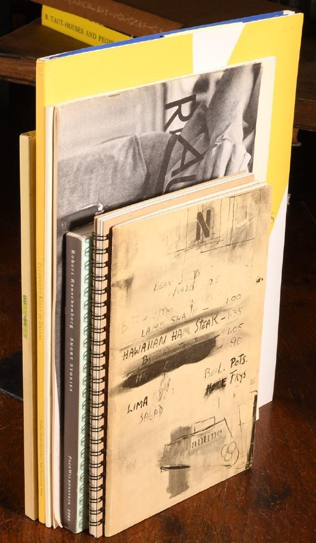 BOOKS: (7) Catalogs Rauschenberg Kelly Calder