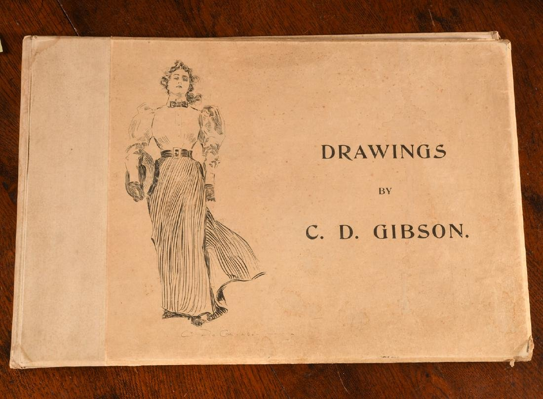 BOOKS: Drawings of Charles Dana Gibson 1894