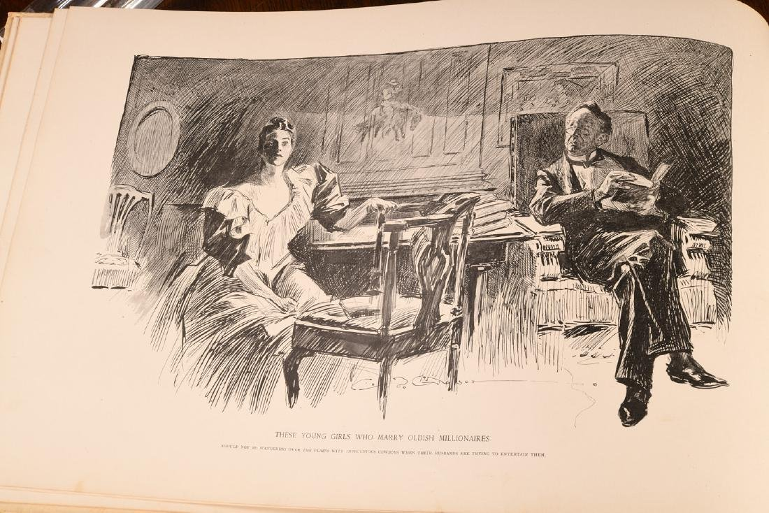 BOOKS: Drawings of Charles Dana Gibson 1894 - 3