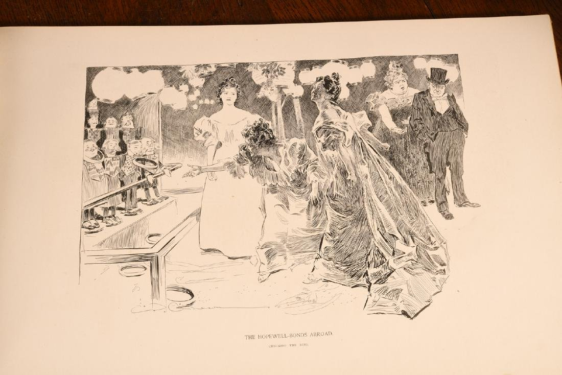 BOOKS: Drawings of Charles Dana Gibson 1894 - 4