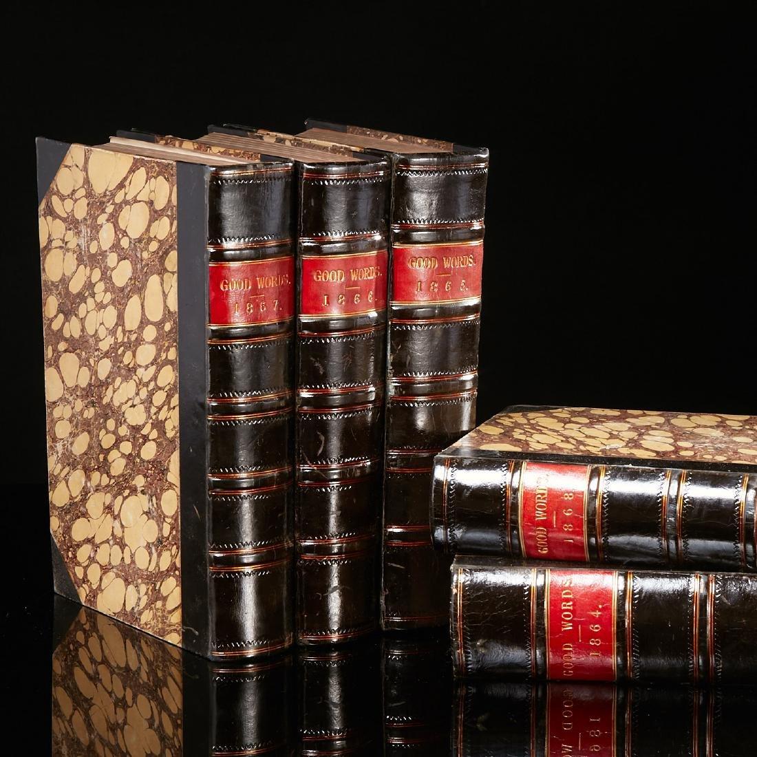 BOOKS: (5) Vol Good Words set 1864-8