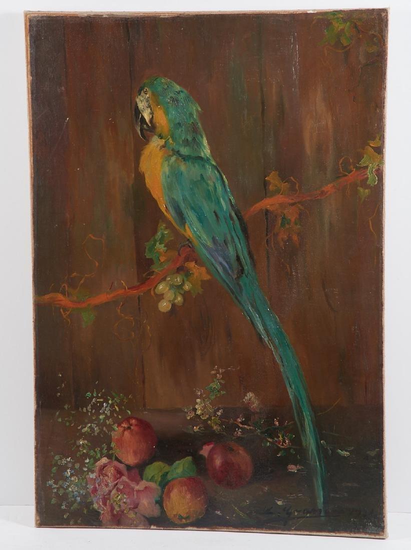 Luis Graner y Arrufi, painting