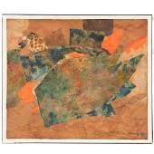 Ernest van Leyden, multimedia painting