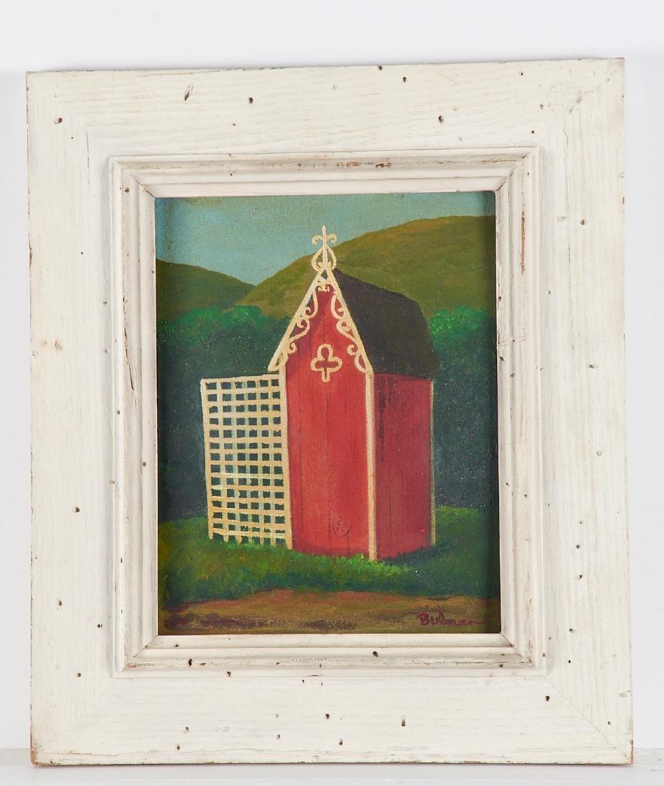 Orville Bulman, painting