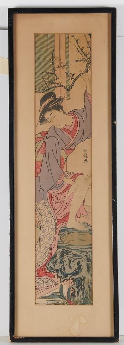 Attrib. to Isoda Koryusai, woodblock print