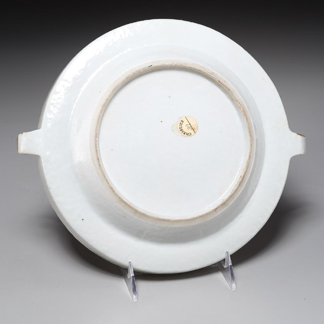 Chinese Export Rockefeller pattern warming plate - 7