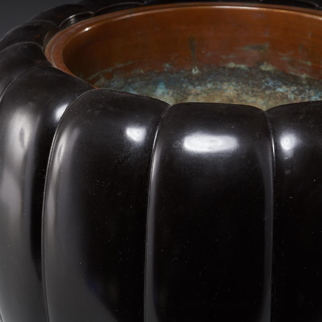 Japanese gourd-form hibachi hand warmer - 3