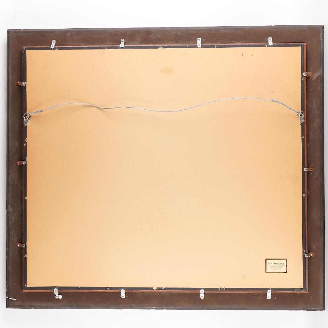Early Chinese framed coromandel panel - 8