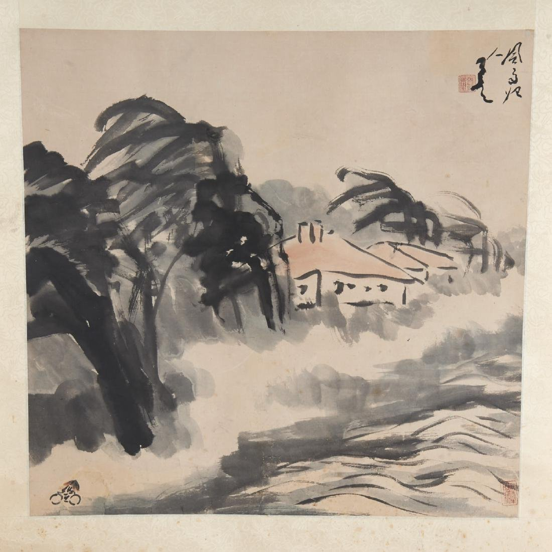 Circle of Fang Zhaolin, scroll painting - 2
