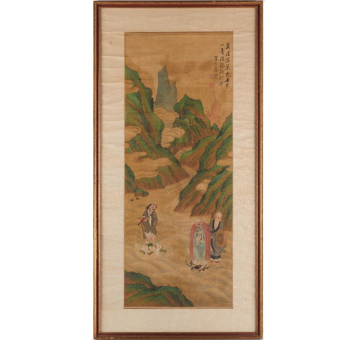 Chinese School, scroll painting