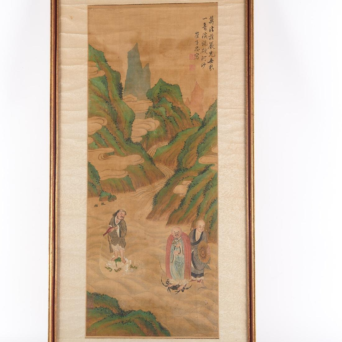 Chinese School, scroll painting - 2