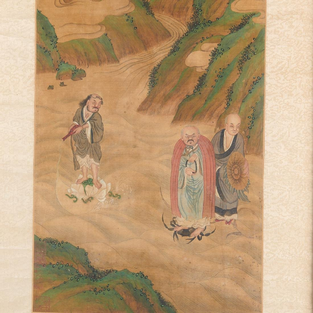 Chinese School, scroll painting - 5